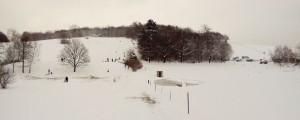 Hutberg mit Schnee